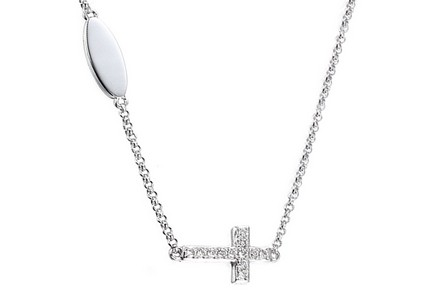 Collier en or avec brillants